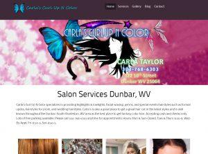 Hair Salon Website Dunbar WV